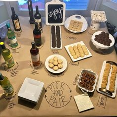 Girl scout cookie and wine pairing night!! #Regram via @cutsandcrumbles