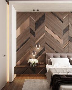Luxury Bedroom Design, Hotel Room Design, Master Bedroom Interior, Gray Interior, Interior Exterior, Home Decor Bedroom, Modern Bedroom, Bedroom Wall, Interior Design