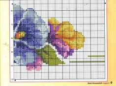 Gallery.ru / Фото #5 - ***** - celita Embroidery Stitches, Embroidery Patterns, Hand Embroidery, Cross Stitch Patterns, Cross Stitch Rose, Cross Stitch Flowers, Easter Cross, Rico Design, Butterfly Flowers
