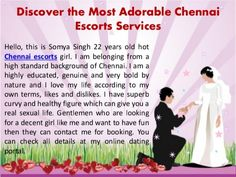 Reasonable Services of Escorts in Chennai with Discounts