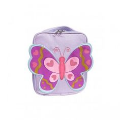 Bella Butterfly Lunch Bag $24.95 #sweetcreations #baby #toddlers #kids #lunch #school