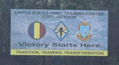 """Fort Jackson Army Base - Pinner writes """"This is where I took my Basic Training at. I was in Delta Company I had DS Ashley, DS Newson & DS Becker. I loved Basic Training here. Victory Forge was awesome. I like to be physically fit & active. Military Service, Military Life, Army Mom, Us Army, Us Military Branches, Army Basic Training, Song Of The South, Army Base, Army National Guard"""