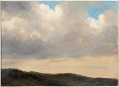 Sky of the Villa Borghèse, Pierre Henri de Valenciennes, 18th C.