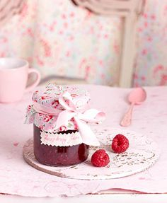 Rasberry marmelade  A delicious gift for your friends