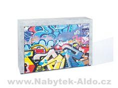 Moderní komoda Street Art, Office Supplies, Design, Dresser