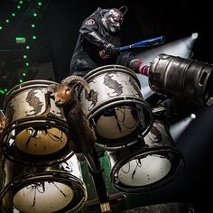 @6cl6wn6 is taking over the @livenation Instagram account tomorrow at 10am PT / 1pm ET. #SummersLastStandTour starts THIS FRIDAY. Get tickets at www.slipknot1.com/events. [📷: Ravenscape.com]