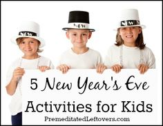 5 New Year's Eve Activities for Kids