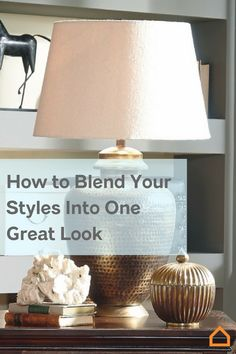 No need to argue! Here is a way to blend differing styles in your home for a beautiful new look.