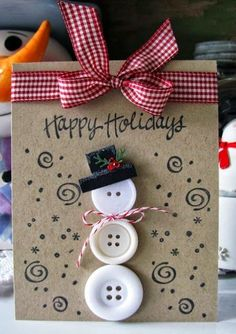Lots of different ideas! Mums make lists ...: Making Christmas Cards with Kids
