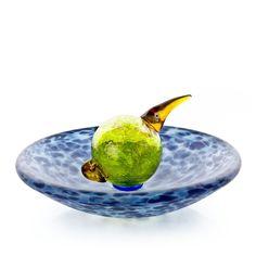 Borowski Bird Bath Bowl Glass Art