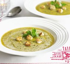 Nigella seeds are a flavourful addition to this winter soup. Nigella seeds taste like oregano and have a slight bitterness to them like mustard seeds. From BBC Good Food. Bbc Good Food Recipes, Soup Recipes, Vegetarian Recipes, Nigella Seeds, Nigella Sativa, Swede Recipes, French Soup, Winter Soups, Fodmap Recipes