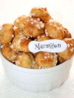 Chouquettes au sucre perlé - Recette de cuisine Marmiton : une recette