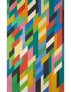 On the Block: A mesmerizing Op Art work by Bridget Riley. http://archdg.st/1H74MTr