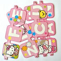 Letrero Hello Kitty - Artículos de Fiesta