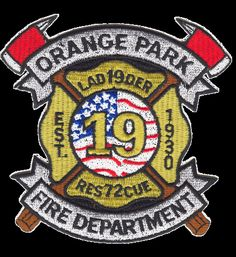 Orange Park Fire Department Patch