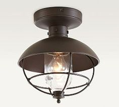 Nautical Onion Outdoor Ceiling Light | Outdoor ceiling lights ...
