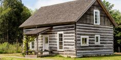 Kurtwood Farms historic log cabin Vashon Island ; Gardenista