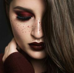 20 Burgundy Makeup L