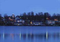 Wooden Houses, Sailors, West Coast, Sweden, King, River, Island, Outdoor, Finland