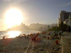 Brasil: Ipanema Beach