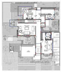 Planos de casa de tres pisos moderna | Construye Hogar