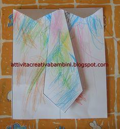 Attività Creative Per Bambini: Festa del papà: un abito elegante