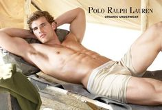 Polo Ralph Lauren Underwear Summer 2010 Doug Porter by Richard Phibbs hot! Hollister Clothes, Hollister Models, Sean O'pry, Polo Ralph Lauren, Hairy Men, Attractive Men, Male Models, Top Models, Hot Guys
