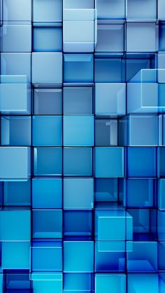 Abstract Cube Mobile Wallpaper
