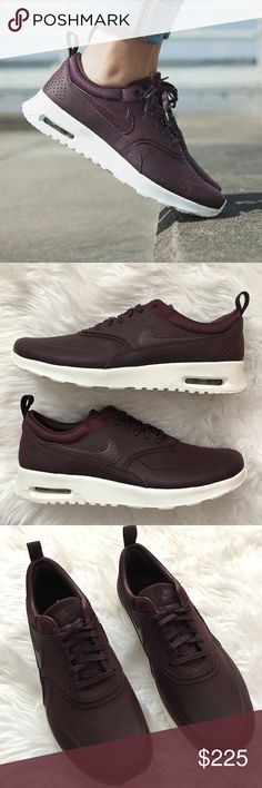 OFFER MEWomen's Nike Air Max Thea Brand new with the box but no lid. Mahogany color. Rare Shoe Nike Shoes Athletic Shoes