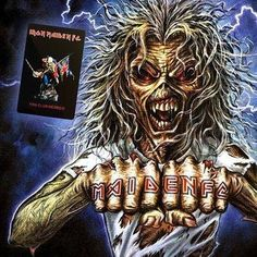 """35.4k Likes, 90 Comments - Iron Maiden (@ironmaiden) on Instagram: """"Fan Club Pre-sales are fast approaching! Everything you need to know ahead of next week can be…"""""""