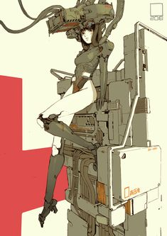 /r/CyberBooty collects art featuring hot cyberpunk, android, cybernetic, and mechanically enhanced chicks or all sorts. Arte Cyberpunk, Cyberpunk Anime, Cyberpunk 2077, Cyborg Anime, Cyberpunk Aesthetic, Character Concept, Character Art, Concept Art, Cyborg Girl