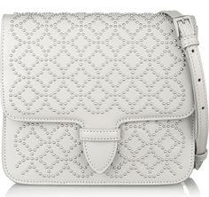 Alaïa Arabesque Mini Studded Shoulder Bag $1,960 via Net-a-Porter