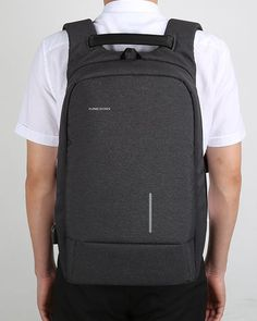 I'm state of art backpack and I will let you charge phone while on the go as I have USB charging port. Your belongings will be safe with me as I have anti-theft design. You can be safe and relaxed with me on your casual or business travels.