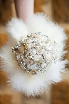Items similar to Great Gatsby, vintage style button brooch Bouquet on Etsy Great Gatsby Wedding, 1920s Wedding, Dream Wedding, Bridal Brooch Bouquet, Brooch Bouquets, Bridesmaid Bouquet, Wedding Bouquets, Button Bouquet, Winter Bouquet