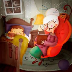 I think I really started enjoying reading because of my grandma. There were the summer sleepovers with my cousins at her house and she would read us a story before bed. Not to mention the she would take me to the public library, picking out her books and allowing me to get some of my own.
