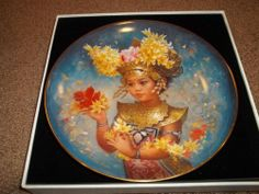 Doulton International Brenda Burke FESTIVAL CHILDREN OF THE WORLD Mariani Plate #CollectorPlate