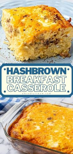 An easy, versatile recipe with no fancy ingredients! Hearty and filling from hashbrowns, eggs, sausage, and cheese, this allergy-friendly Christmas morning breakfast casserole is the BEST and perfect… More Easy Brunch Recipes, Best Breakfast Recipes, Dinner Recipes, Breakfast Ideas, Easy Recipes, Cheap Recipes, Carrot Recipes, Free Breakfast, Oven Recipes