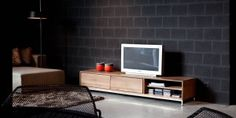 Teak tv-meubel Essential