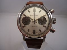 e4f4e87e79f Online veilinghuis Catawiki  Bucherer - Herenpolshorloge - Chronograaf -  Ca. 1960 Omega Watch