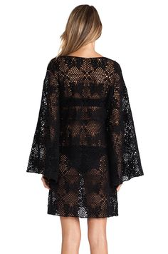 LISA MAREE - Saviour Dress in Black. Price: 194,88 euros. Yarn: 100% Cotton
