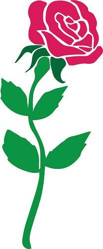 FREE SVG rose blog posts - flower | The Craft Chop
