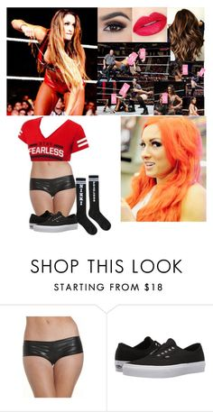 """""""Nikki Bella Vs. Becky Lynch - Smackdown Live"""" by the-walking-dead-and-wwe-lover ❤ liked on Polyvore featuring WithChic, Vans, Retrò, GURU and Monday"""