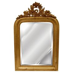 Hickory Manor House Wreath Wall Mirror - 18W x 28H in.