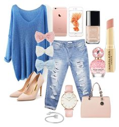 """Pretty Pastels"" by kateseeingstars on Polyvore featuring Wet Seal, CLUSE, Rupert Sanderson, MICHAEL Michael Kors, Decree, Chanel, Marc Jacobs, Napoleon Perdis, women's clothing and women"
