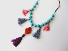 boho chic necklaces - Google Search
