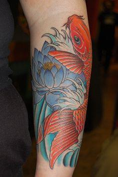 Katja Ramirez - traditional Japanese tattoos - Austin
