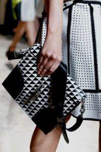 Proenza Schouler Record Bag from Spring/Summer 2013 Runway    #handbags #ProenzaSchouler