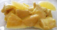 Receta adelgazante: Pollo al curry con piña