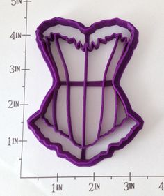 Corset Cookie Cutter — WarpZone Prints