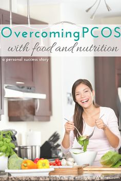 I've discovered that there's a whole world out there of women who have been overcoming PCOS with food and nutrition. (and other ovulation disorders)